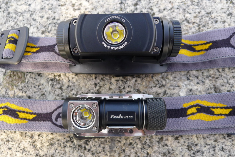 Fenix HL50 and HL55 - Cree XM-L2