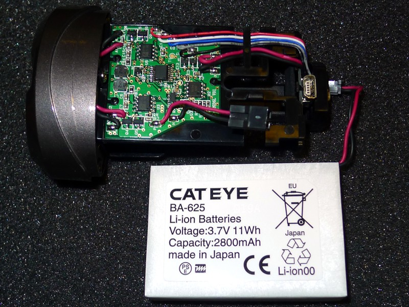 CatEye HL-EL625RC driver + battery pack