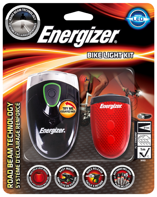 Energizer Bike Light Set
