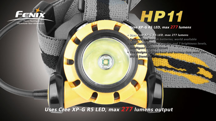Fenix HP11 - marketing