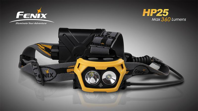 Fenix HP25 - catalogue photo