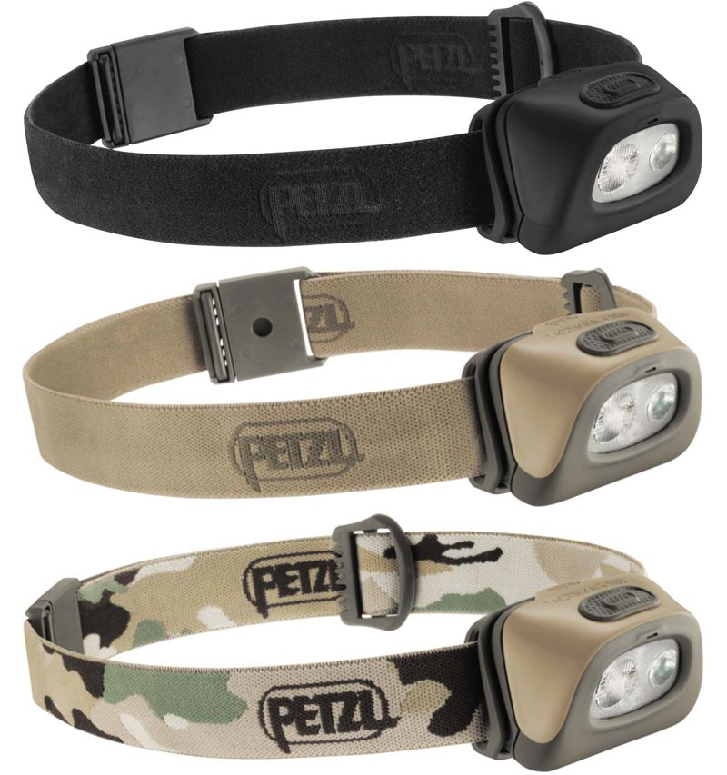 Petzl TacTikka+ catalogue photos