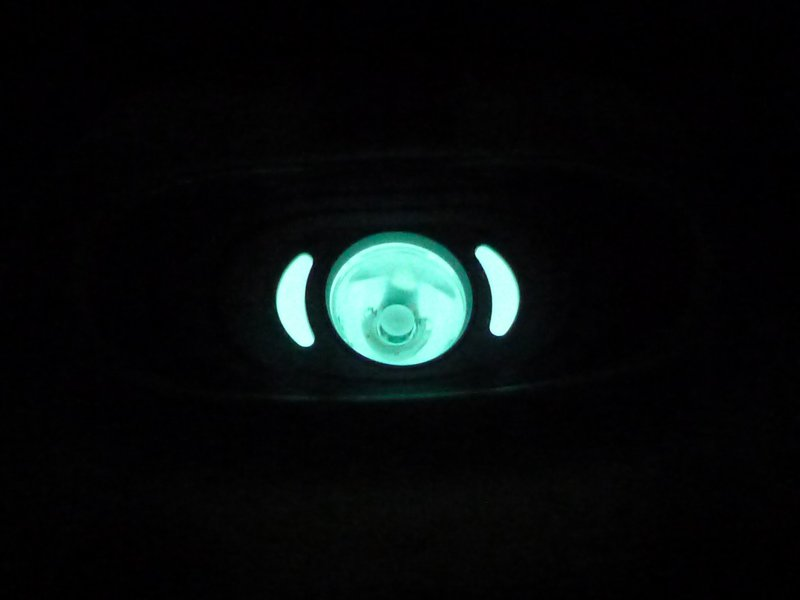Petzl Tikka 2014 - GID ring, glow in the dark