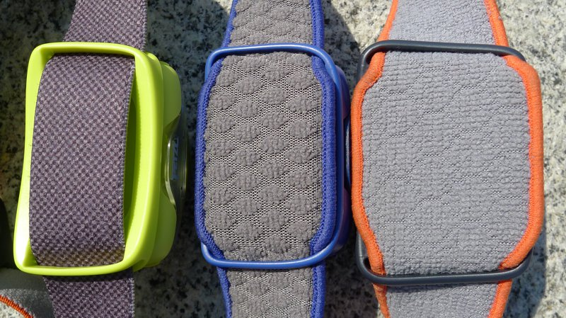 Petzl Tikka 2014 - headstraps comparison