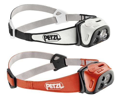 Petzl Tikka R+, RXP - catalogue photo.