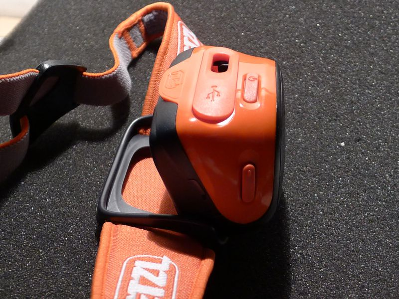 Petzl Tikka R+ side view
