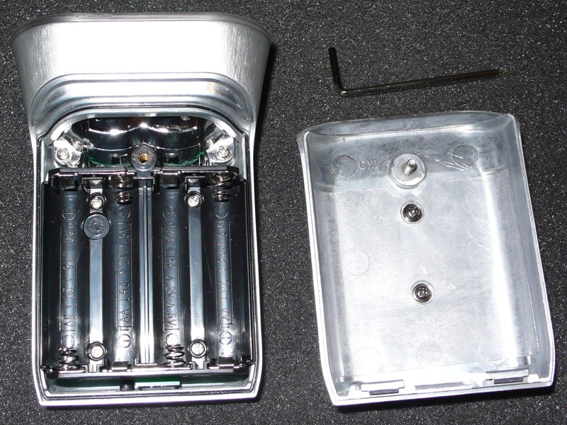 Philips Saferide 80 - battery compartment