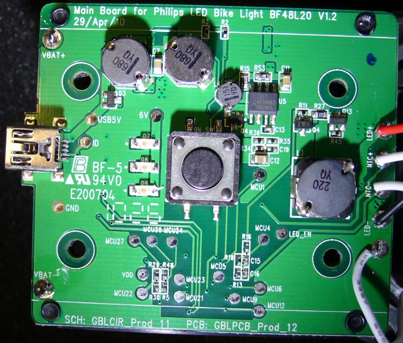 Philips Saferide 80 - driver pcb