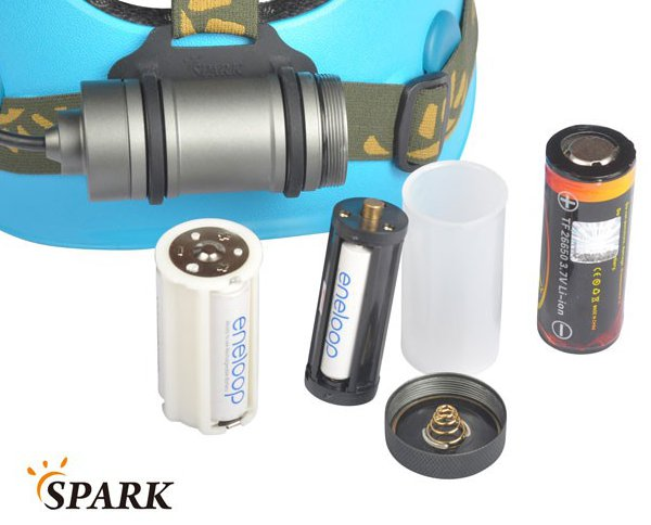 Spark SX5 - battery adapters